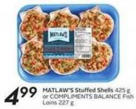 Matlaw's Stuffed Shells