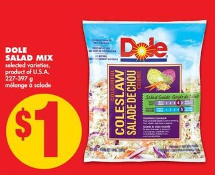 Dole Salad Mix - 227-397 g