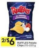 Ruffles Potato Chips 215-220 g