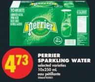 Perrier Sparkling Water - 10x250 mL