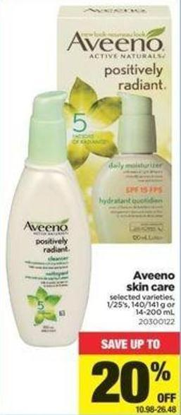 Aveeno Skin Care - 1/25's - 140/141 g or 14-200 mL