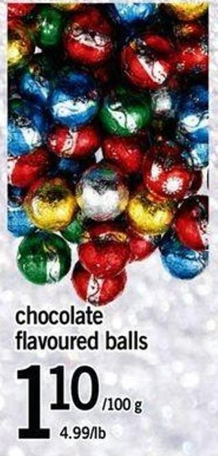 Chocolate Flavoured Balls