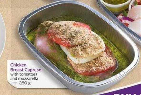 Chicken Breast Caprese