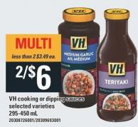 VH Cooking Or Dipping Sauces - 295-450 mL