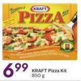Kraft Pizza Kit 850 g