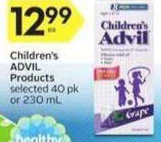 Children's Advil Products - 40 Air Miles Bonus Miles