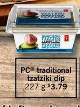 PC Traditional Tzatziki Dip - 227g