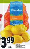 Lemons 2 Lb Product Of Argentina Or South Africa Clementines 2 Lb Product Of Argentina Or South Africa