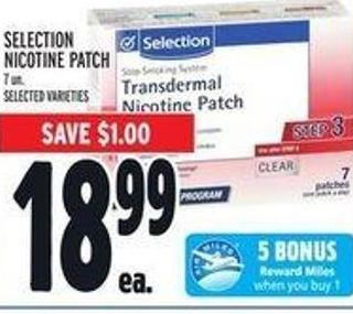 Selection Nicotine Patch