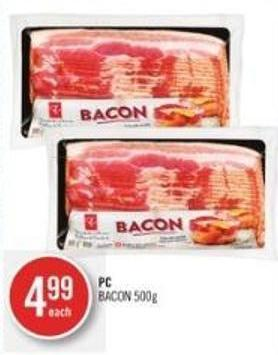 PC Bacon 500g