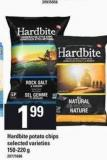 Hardbite Potato Chips - 150-220 g