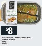 From Our Chefs Stuffed Chicken Breast - 350 g