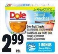 Dole Fruit Snacks