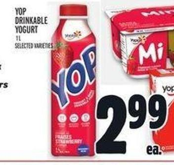 Yop Drinkable Yogurt