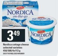 Gay Lea Nordica Cottage Cheese - 450/500/4x113 g