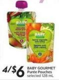 Baby Gourmet Purée Pouches