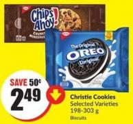 Christie Cookies Selected Varieties 198-303 g Biscuits