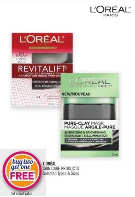 L'oréal Skin Care Products