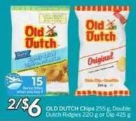 Old Dutch Chips - 15 Air Miles Bonus Miles