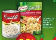 Campbell's Soup Or Knorr Sidekicks