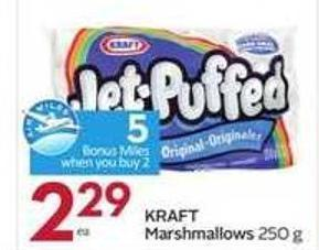 Kraft Marshmallows- 5 Air Miles