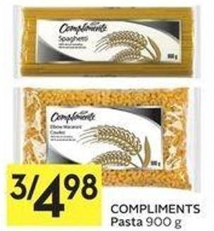 Compliments Pasta 900 g