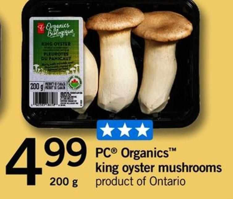 King Oyster Mushrooms - 200 G