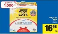 Tidy Cats Litter - 5.44 Kg