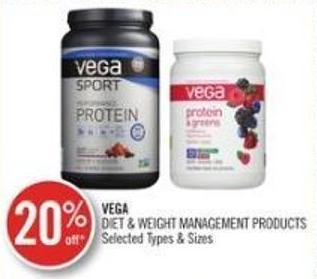 Vega Diet & Weight Management Products