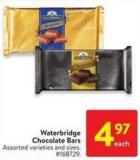 Waterbridge Chocolate Bars