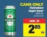 Heineken Lager Beer - 500 mL