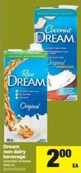 Dream Non Dairy Beverage - 946 Ml