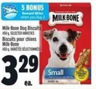 Milk-bone Dog Biscuits 450 g