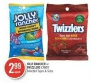 Jolly Rancher or Twizzlers Candy