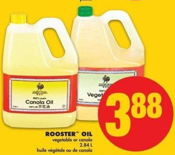 Rooster Oil - 2.84 L