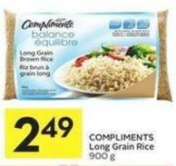 Compliments Long Grain Rice 900 g