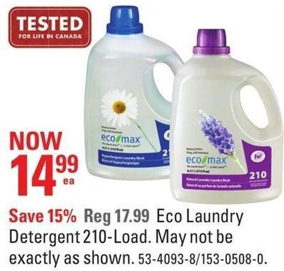 Eco Laundry Detergent 210-load