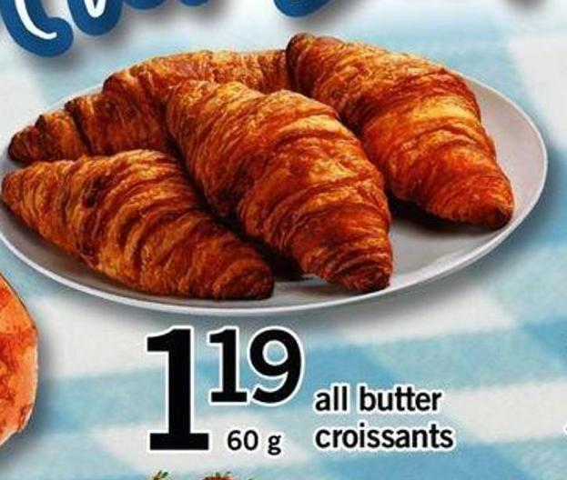 All Butter Croissants