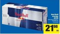 Red Bull Energy Drink - 12x250 Ml