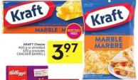 Kraft Cheese 400 g or Shredded 320 g (Excludes Cracker Barrel)