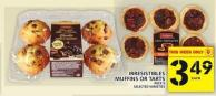 Irresistibles Muffins Or Tarts