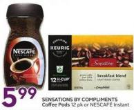 Sensations By Compliments Coffee Pods