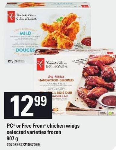 PC Or Free From Chicken Wings - 907 g