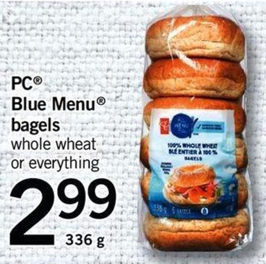 PC Blue Menu Bagels - 336 G