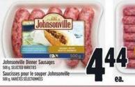 Johnsonville Dinner Sausages - 500 g