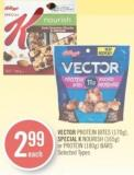 Vector Protein Bites (170g) - Special K Nourish (165g) or Protein (180g) Bars