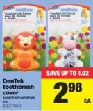 Dentek Toothbrush Cover