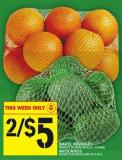 Navel Oranges Or Avocados