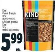 Kind Cereal Granola 312 G