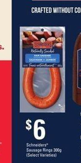 Schneiders Sausage Rings - 300g